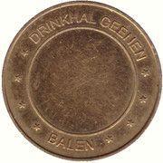 1 euro - Drinkhal Geenen (Balen) – revers