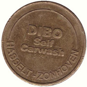 Jeton de lavage automobile - Dibo (Hasselt) – avers