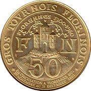 50 gros tournois florinois – revers
