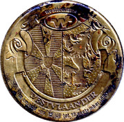 25 Westvlaander (9 coats of arms) – avers