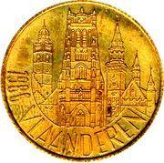 25 Vlaamse Franken – avers