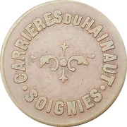 Soignies - Carrièeres du Hainaut – avers