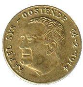 100 Oostendse Florijn (Karel Sys) – avers