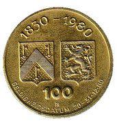 100 Oostendse Florijn (Karel Sys) – revers