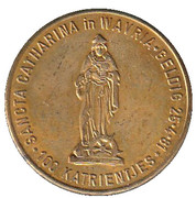 100 Katrientjes - Sint-Katelijne-Waver – revers