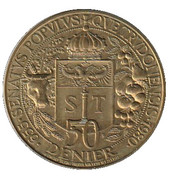 50 Denier - St. Truiden – revers