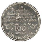 100 Kruiwagen - Bonheiden – revers
