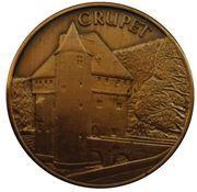 Jeton Belgique 100 chevreuils, Crupet – avers