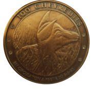 Jeton Belgique 100 chevreuils, Crupet – revers