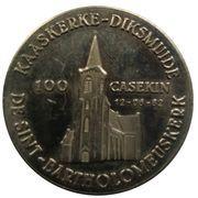 100 Casekin - Kaaskerke-Diksmuide – revers