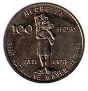 100 Herders - Mechelen - Sint Katelijne Waver – revers