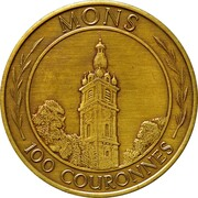 Jeton 100 Couronnes (Mons) – avers
