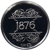 Jetons Belgique jetons souvenirs 1830-1980  1876 -  avers
