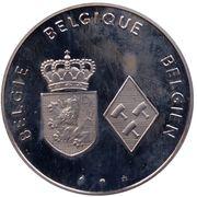 Jetons Belgique Mariage du Prince Philippe -  revers