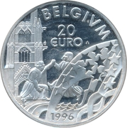 20 Euro - Albert II -  revers