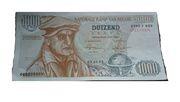 1000 frank (Billet de publicité électorale) – avers