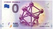 0 euro - Brussels (Atomium) – avers