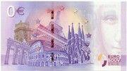 0 euro - Brussels (Atomium) – revers