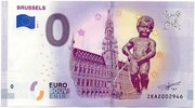 0 euro - Brussels – avers