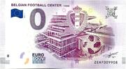 0 euro - Tubize (Belgian Football center) – avers