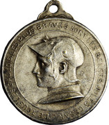 Médaille de la résistance de Liege, Waelhem and Nieuport – avers