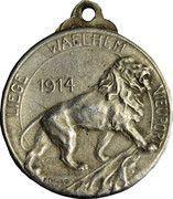 Médaille de la résistance de Liege, Waelhem and Nieuport – revers