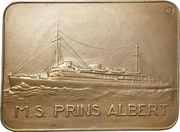 Plaquette - Shipbuilding trade exhibition – avers