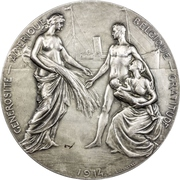 Medal - Gratitude towards the United States of America – revers