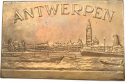Plaquette - 60th anniversary of the festival of the city of Antwerp – avers