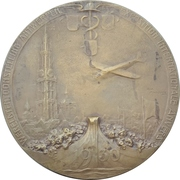 Medal - World Exposition in Antwerpen – avers