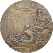 Medal - World Exposition in Antwerpen – revers