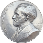 Medal - Death of Paul Huybrechts – avers