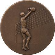 Médaille de volley-ball (Beker van Belgie) – avers