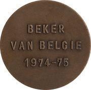 Médaille de volley-ball (Beker van Belgie) – revers