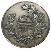 Médaille - Léopold III (Club Royal Philatélique) – revers