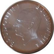 Belgique Médailles 40 ans de règne de Baudouin I – avers