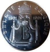 Belgique Médailles 40 ans de règne de Baudouin I – revers