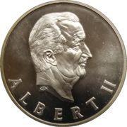 Médailles Belgique Albert II Prestation de Serment – avers
