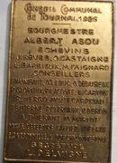Jetons Belgique Jetons souvenirs Conseil Communal de Tournai en 1926 – revers