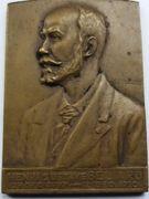 Belgique Médailles Henri Gustave Beliard – avers