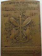Belgique Médailles Henri Gustave Beliard – revers