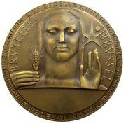 Médailles Belgique Médaille Expo 58 – avers