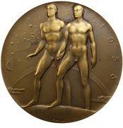 Médailles Belgique Médaille Expo 58 – revers