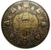 Belgique Médailles Première visite de Jean-Paul II en Belgique, 1985 – revers