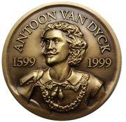 Medailles Belgique 400ème anniversaire de Van Dijck, 1999 – avers