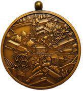 Médailles Belgique Médaille Saint Aubin, 150 ans d'Indépendance, 1980 – avers