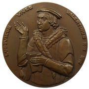 Médailles Belgique Ludovicus Vives Valentinus – avers