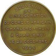 Cercle Africain Charleroi-Thuin – revers