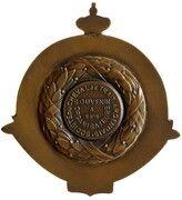 Médaille Société du cheval de trait ardennais – revers