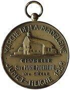 Médaille Marche de la Madeleine – revers